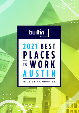 Award for Best Places to Work in Austin 2021