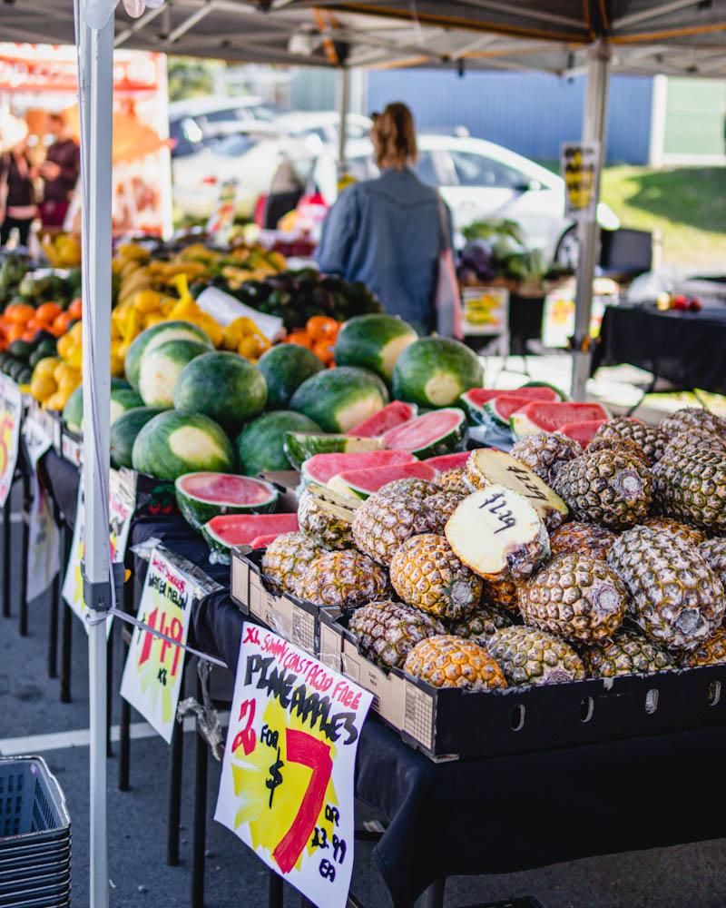 Fresh fruits from Fruitopian Delight
