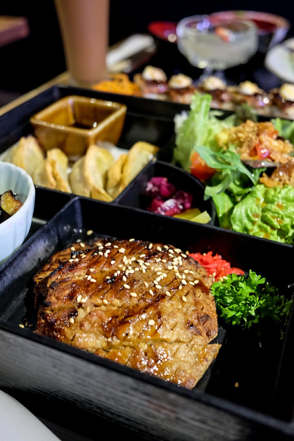 singapore-vegan-guide-herbivore-teriyaki-chicken-bento
