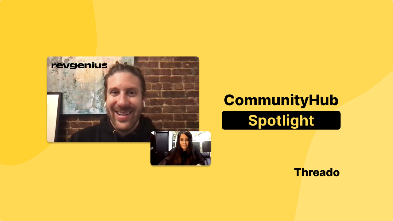 💸 Growing RevGenius to a 14,000+ strong community of sales and marketing professionals
