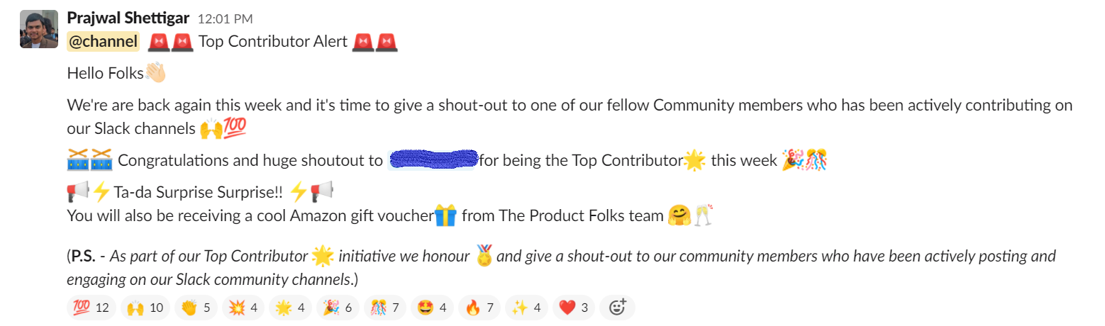 The Product Folks top contributors