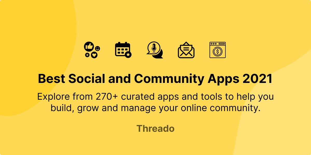 Community Building Apps