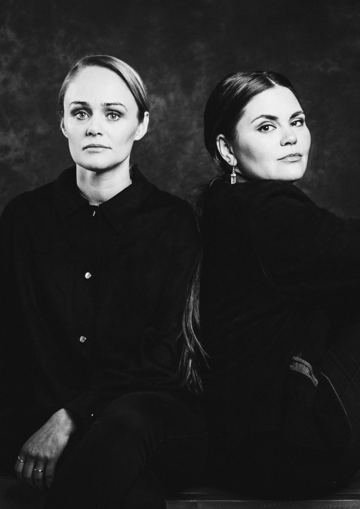 Picture of Tinna & Lara. Founders of Andagift