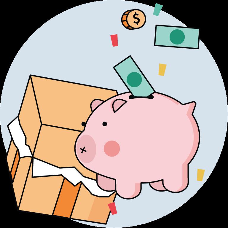 How Greatest Gift Works: 3.  Receive & Redeem monetary gifts for children's savings (529 plans, UGMA / UTMA, savings accounts)