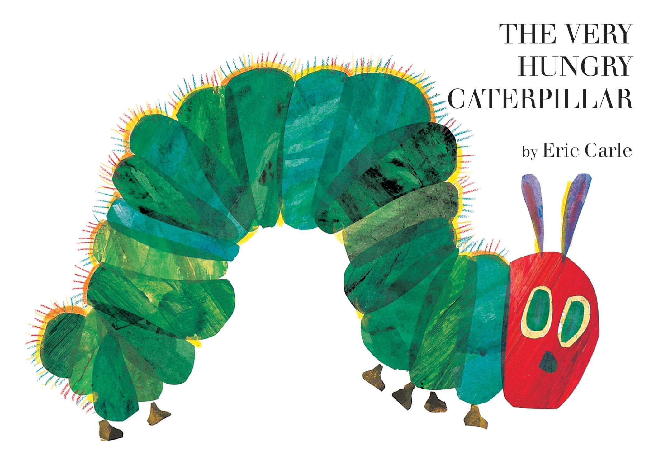 image of The Very Hungry Caterpillar Book Cover by Eric Carle
