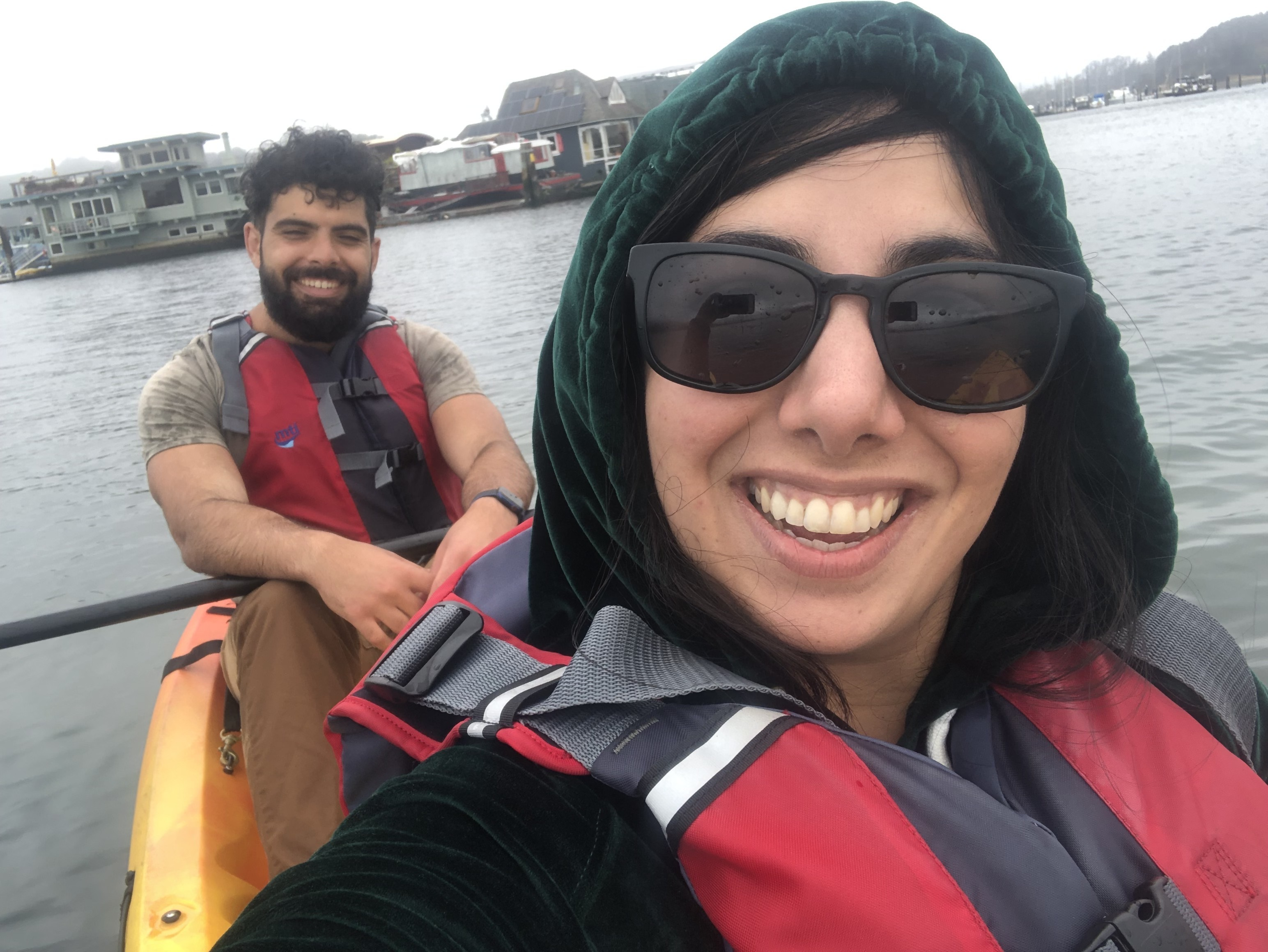Kayaking in Sausalito with Shab, Featureform's Head of Operations
