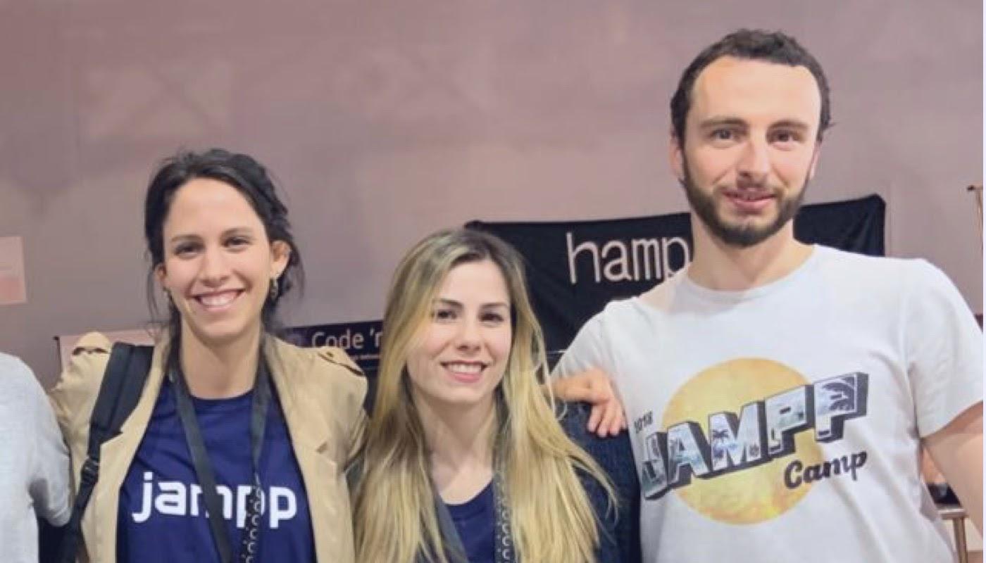 Talent Acquisition Team at Jampp Tech event