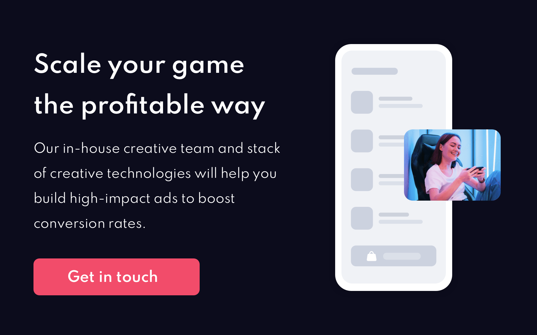 Scale your game the profitable way