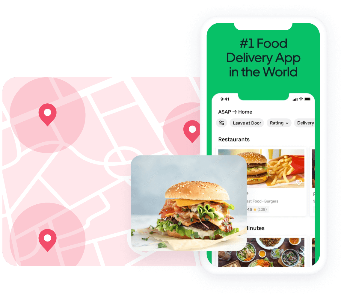 Geolocated ads for Commerce apps
