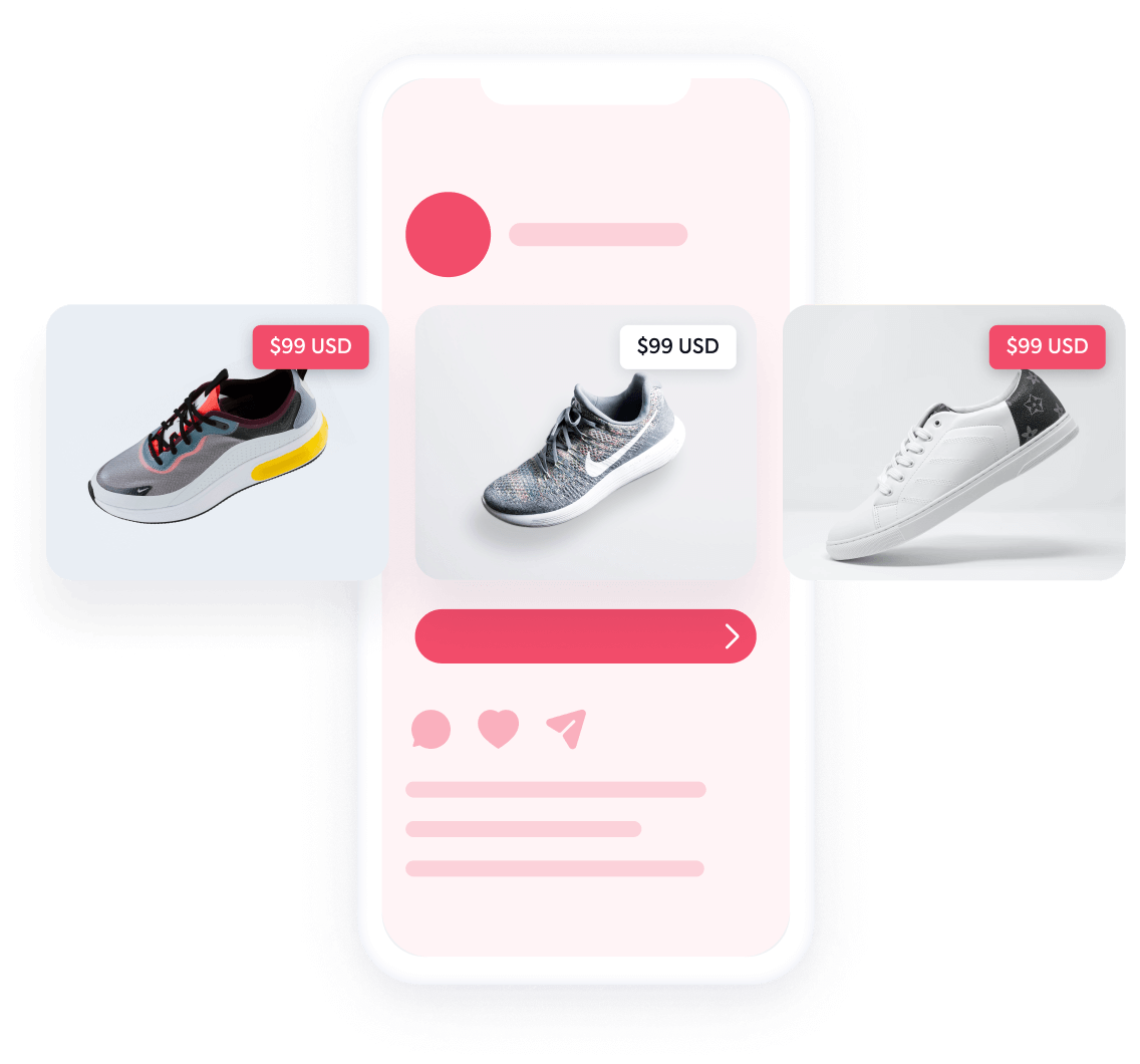 Dynamic ads for Commerce apps
