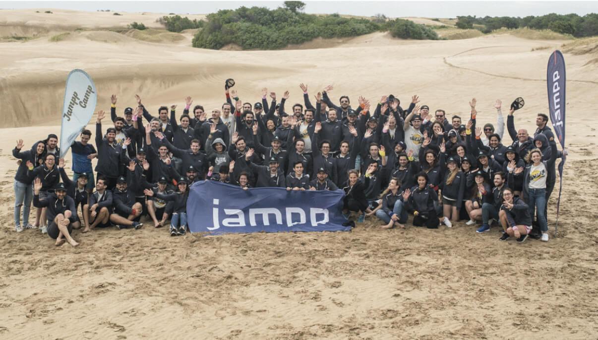 The Jampp team at Jampp Camp