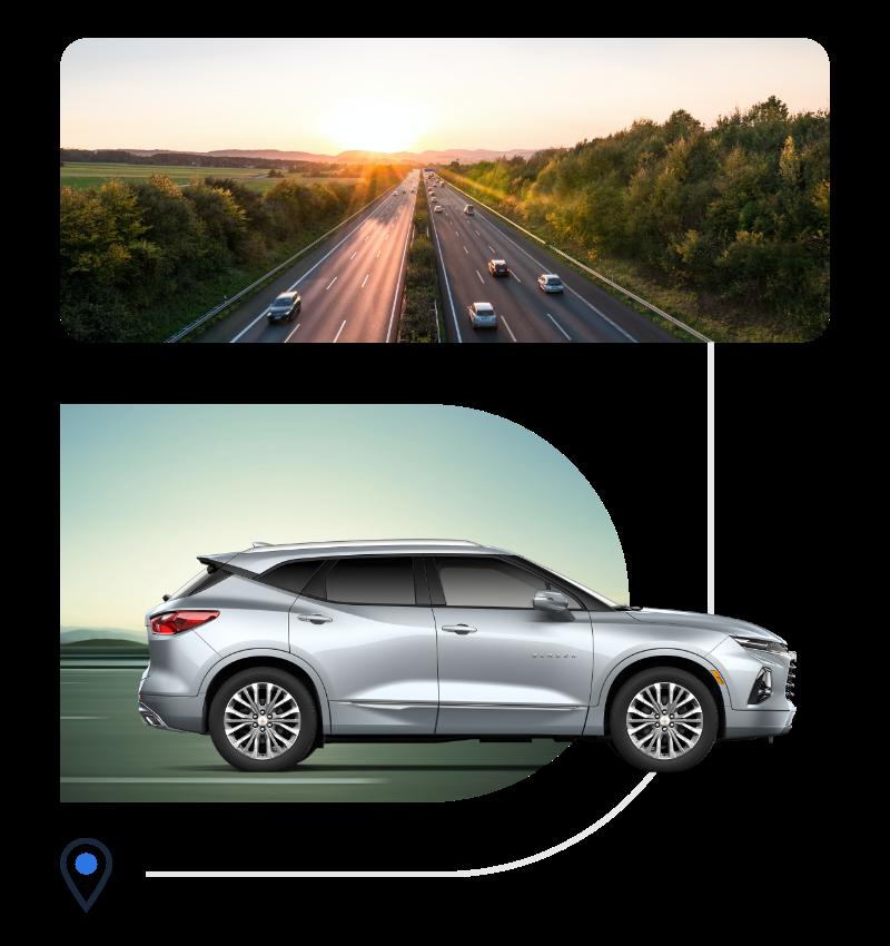 On-demand vehicle transport company