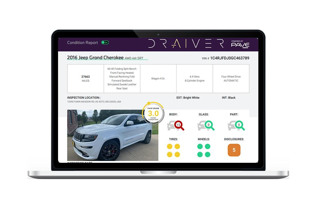 Remote vehicle inspection management app