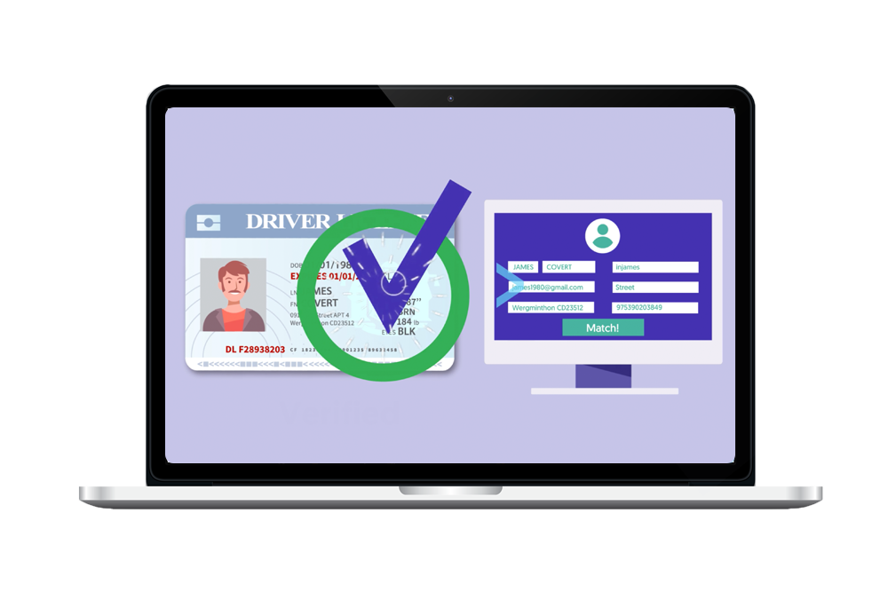 Driver management app with ID Verification