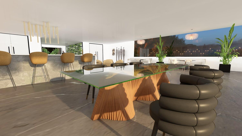 Vigor restaurant Wildwood Court Projects.