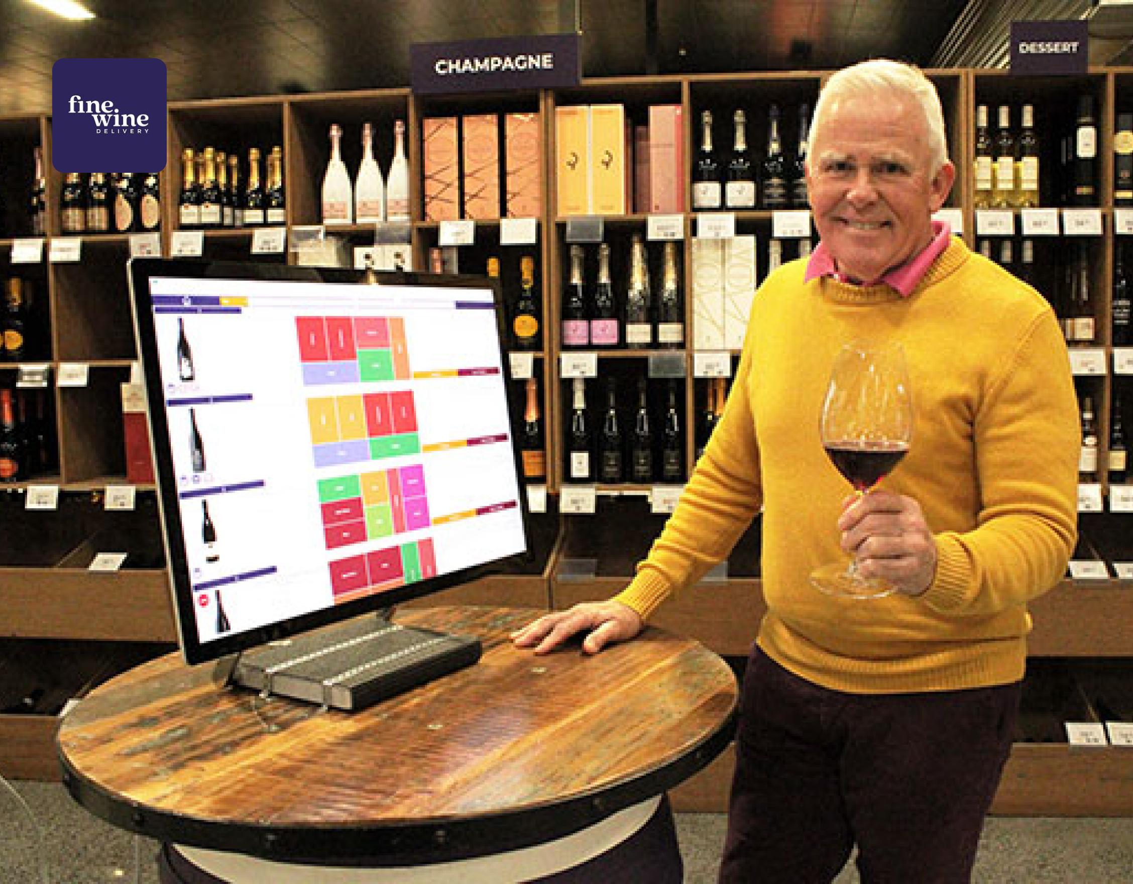Fine Wine Delivery Case Study Image