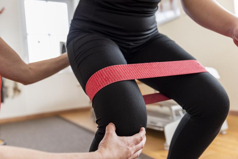 Knee  rehab Milsons POint