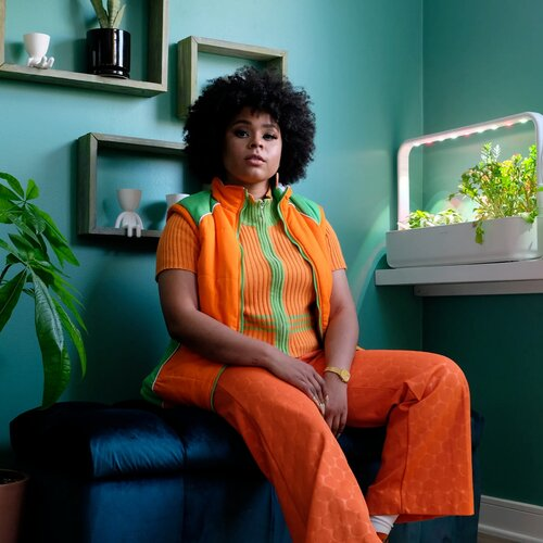 VOGUE:  Tayla Parx Has a Room Dedicated to Her Vegetable Garden