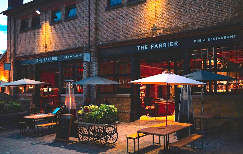 THE FERRIER, LONDON