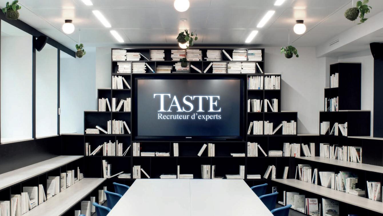 Taste Recruteur d'experts, membre chez kwerk