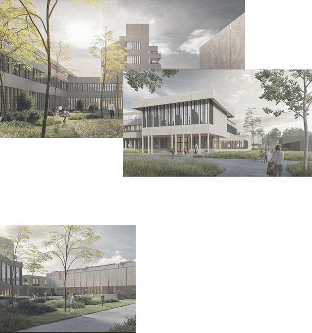 Visualisation of the new Felix building
