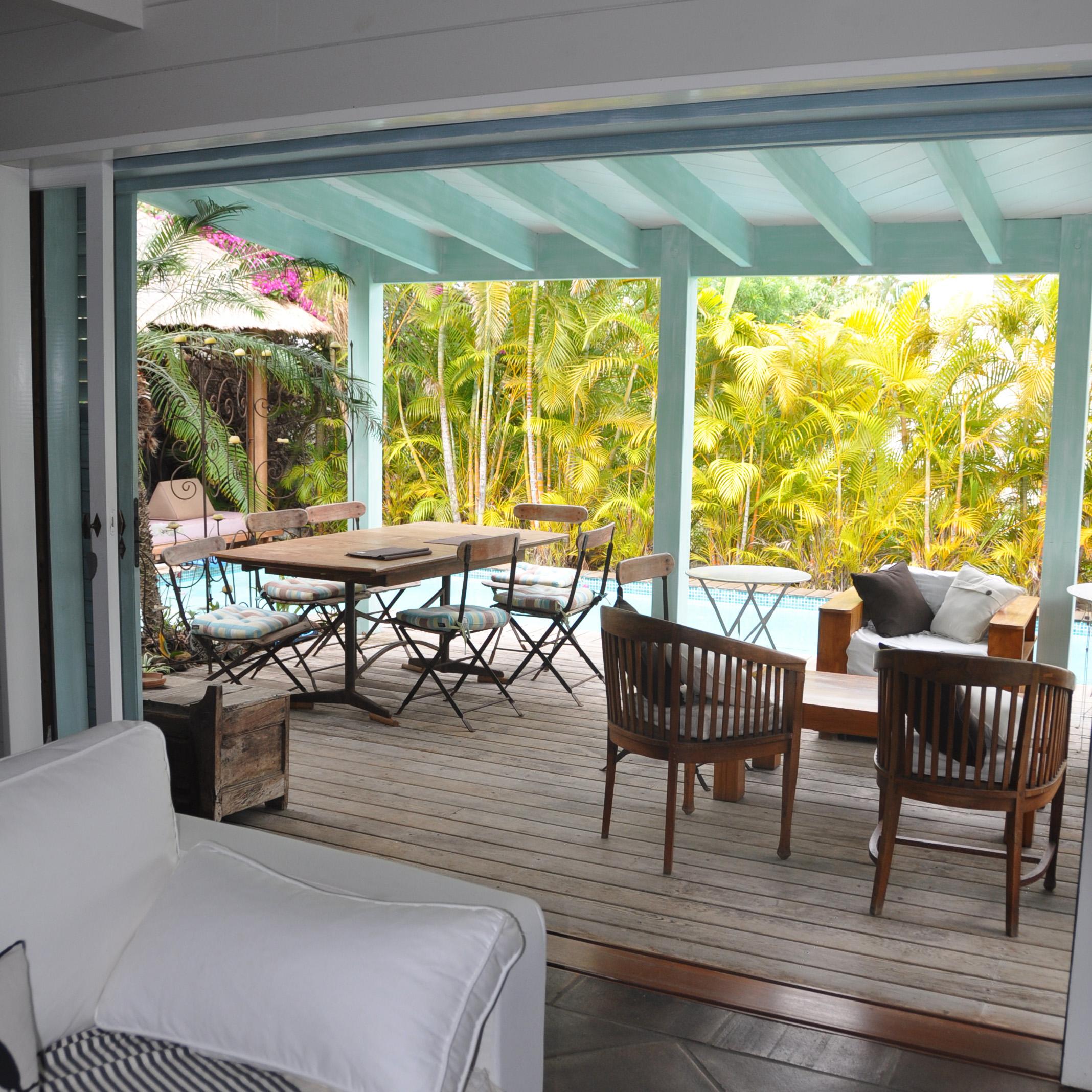 Avancée de terrasse Martinique