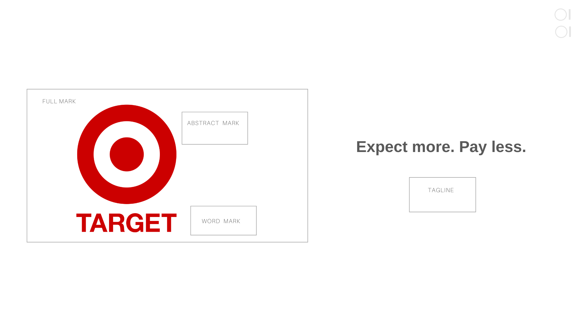 A sample of Target's logo for Owl Street Studio's article on logo design