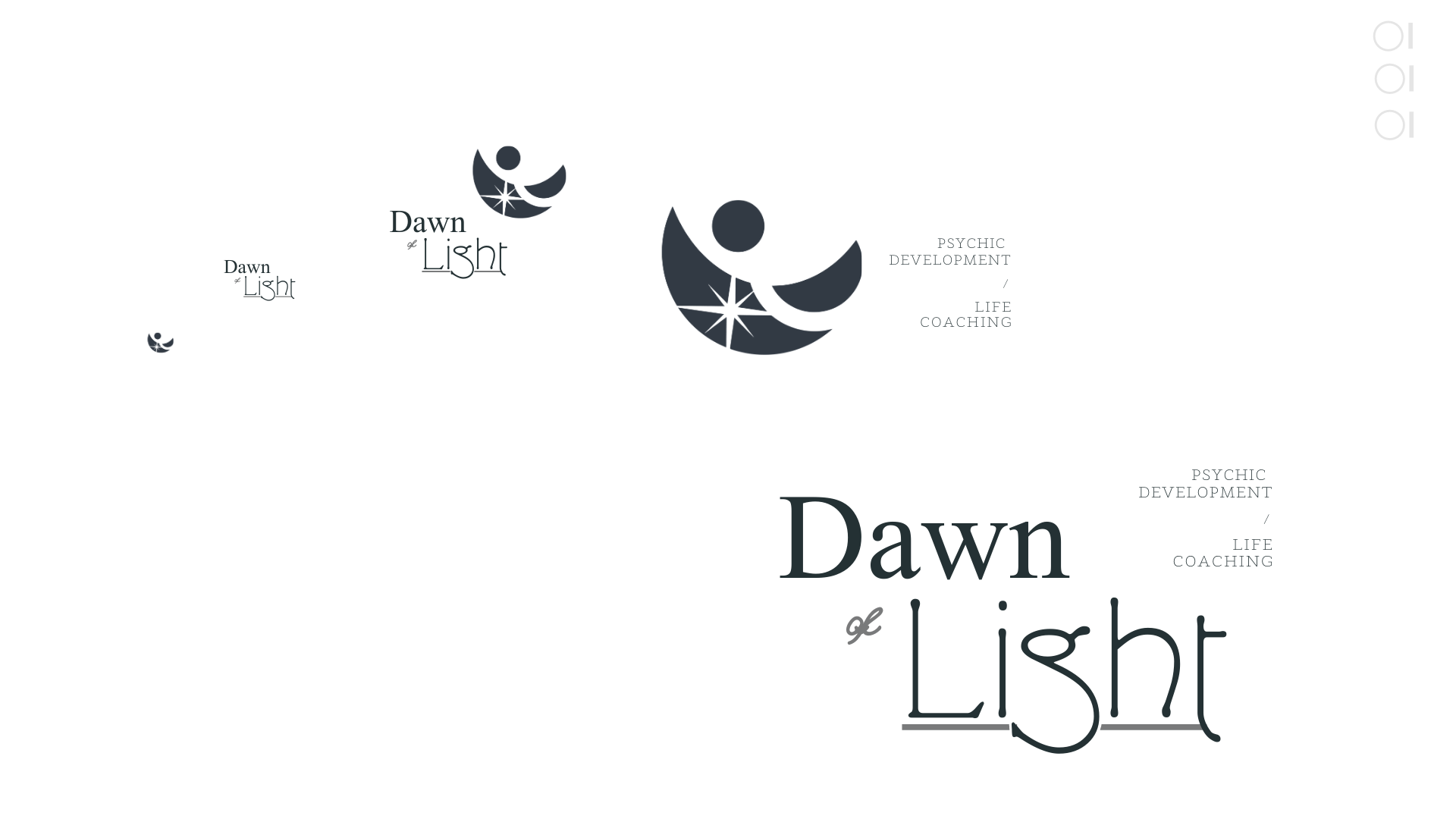 A sample of logos created by Owl Street Studio