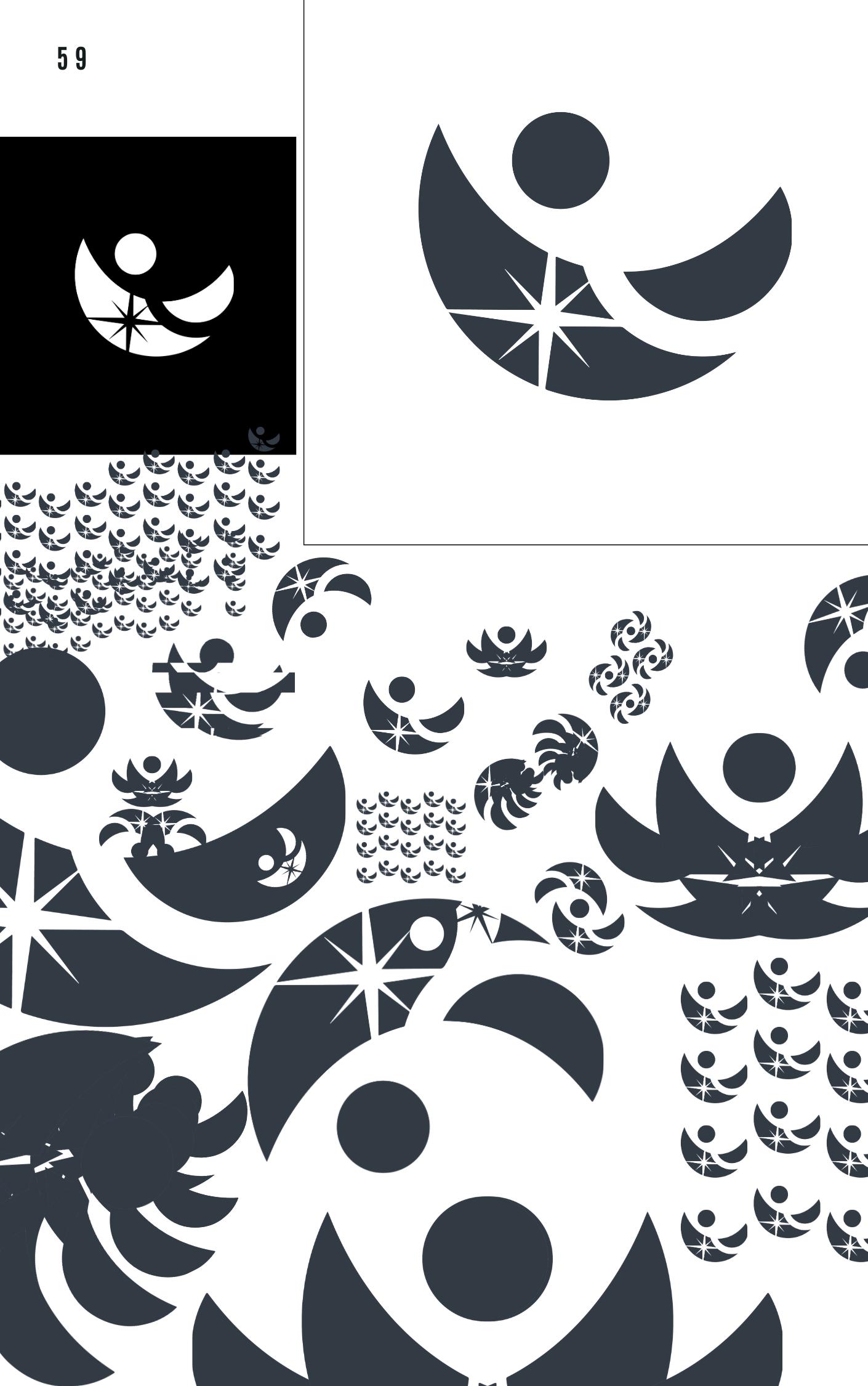 A sample of logos design by Owl Street Studio