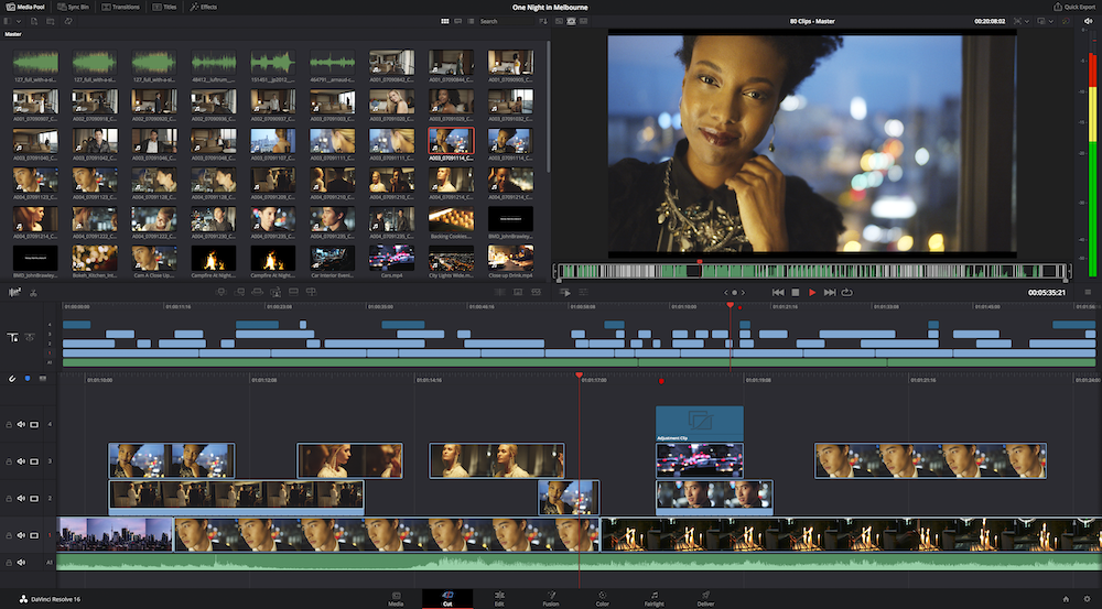 Video Editor User Interface
