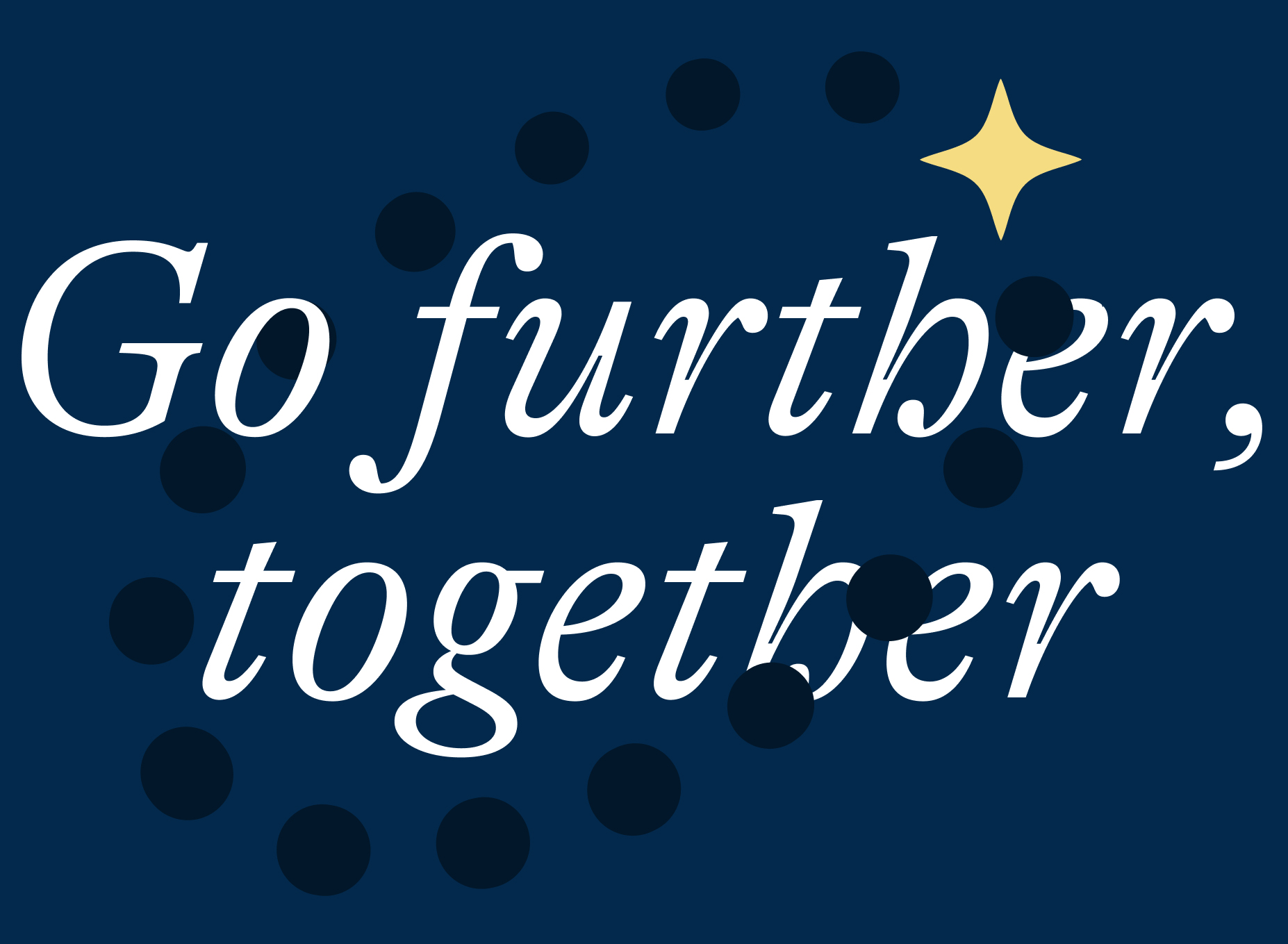 Go further together icon