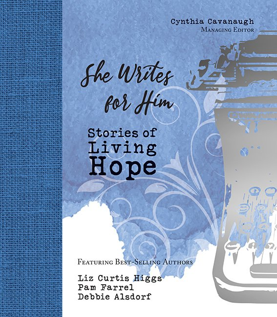 She Writes for Him Cover