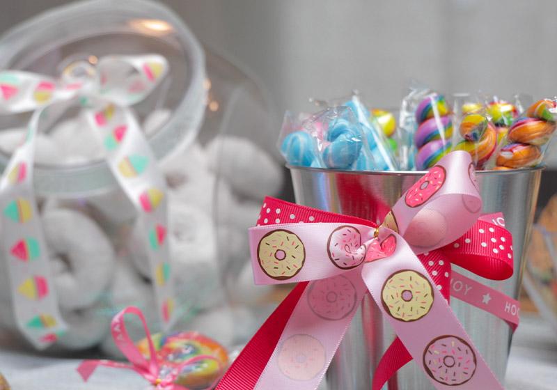 Sweet Shop Ribbon for DIY Candy Bar Parties