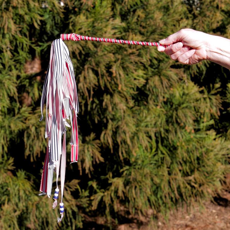 Patriotic Taffy Stripe Grosgrain Ribbon Set