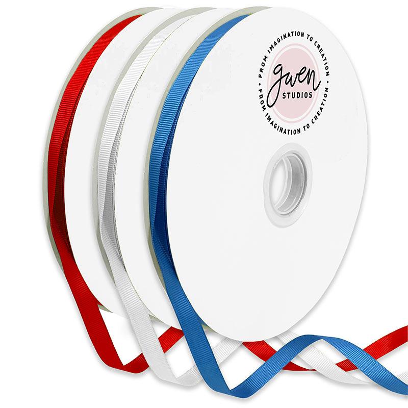 Patriotic Grosgrain Ribbon Set