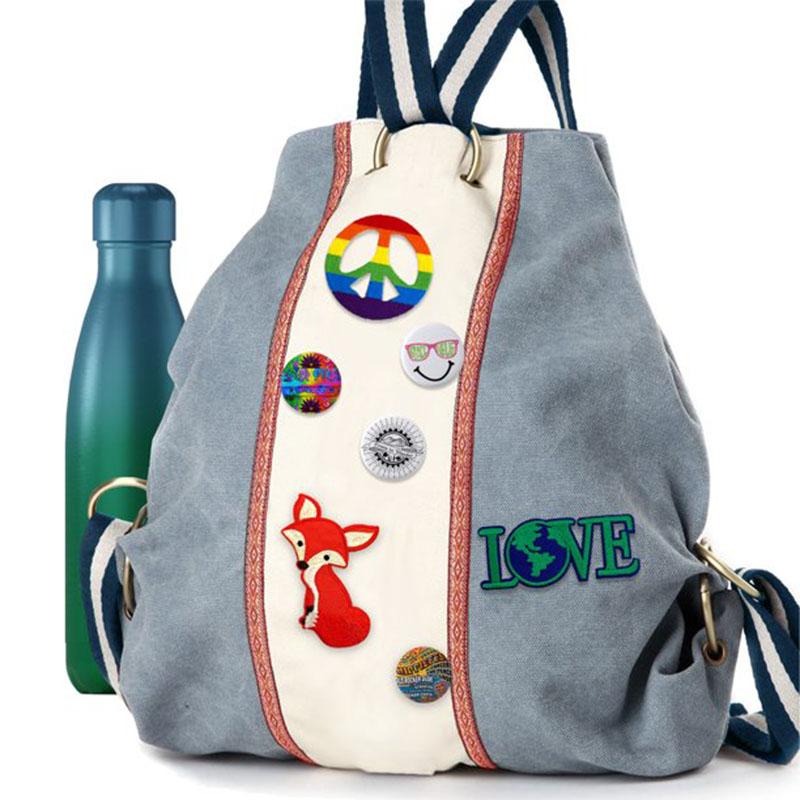 Unicorn, Rainbow, Stars and Mermaid Iron-On Patch Set