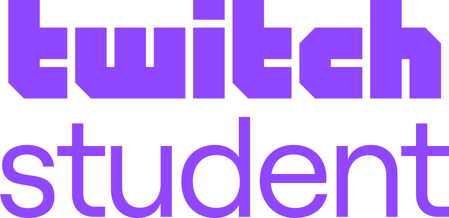 An image of Twitch Student's logo