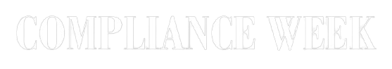 Compliance Week Logo From Conference Sponsorship