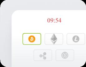 Selecciona tu crypto en el app