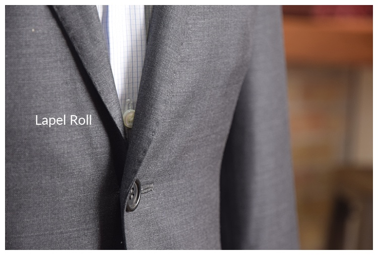 Lapel Roll on a custom suit by Tailor Cooperative in Salt Lake City Utah