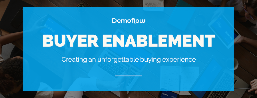 Buyer Enablement - Creating an Unforgettable Buying Experience