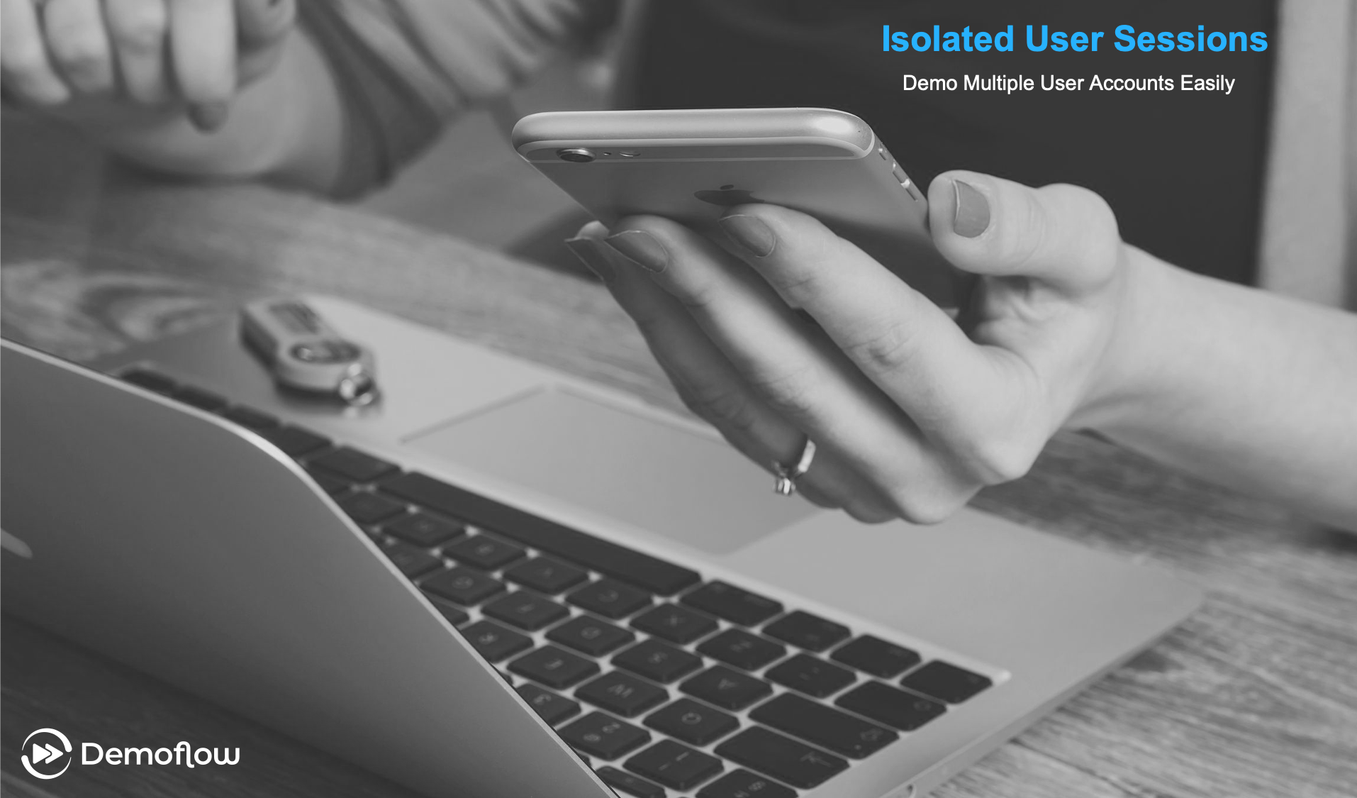 Isolated User Sessions: Demo multiple user accounts in one seamless presentation