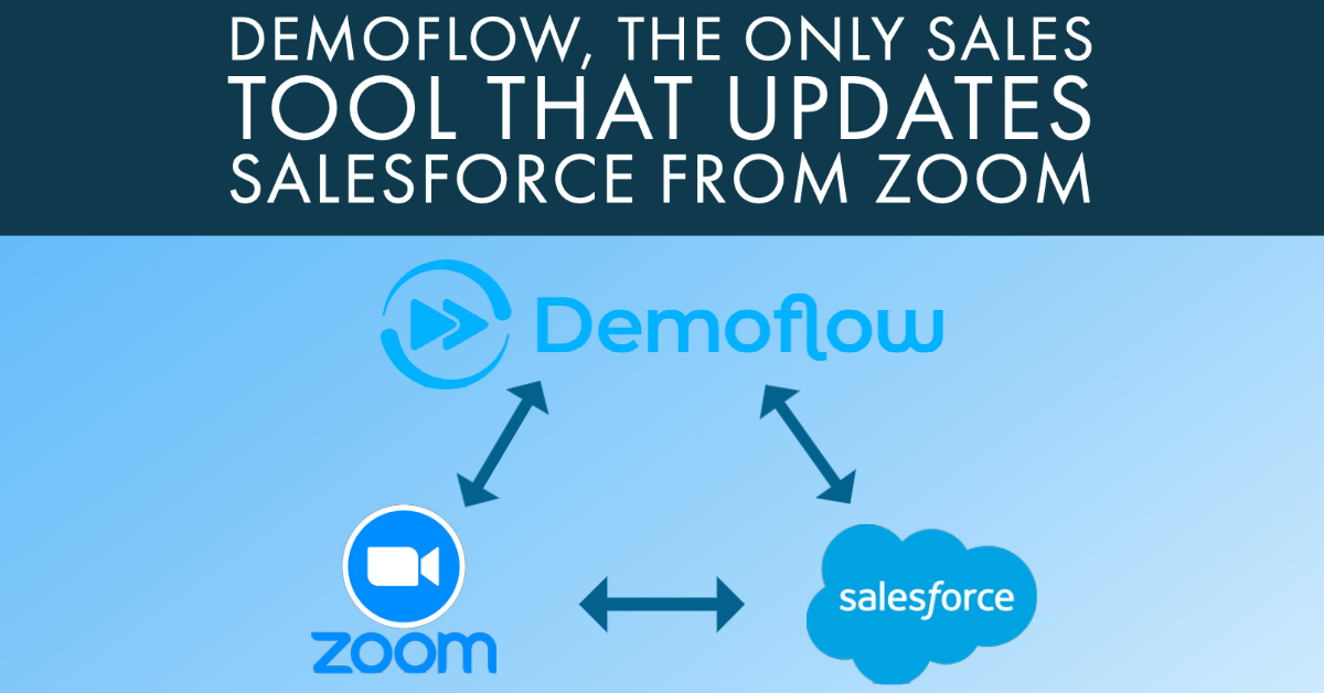 Demoflow, the Only Sales Tool that Updates Salesforce from Zoom