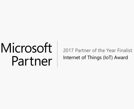2017 Microsoft Partner of the Year Awards Finalist