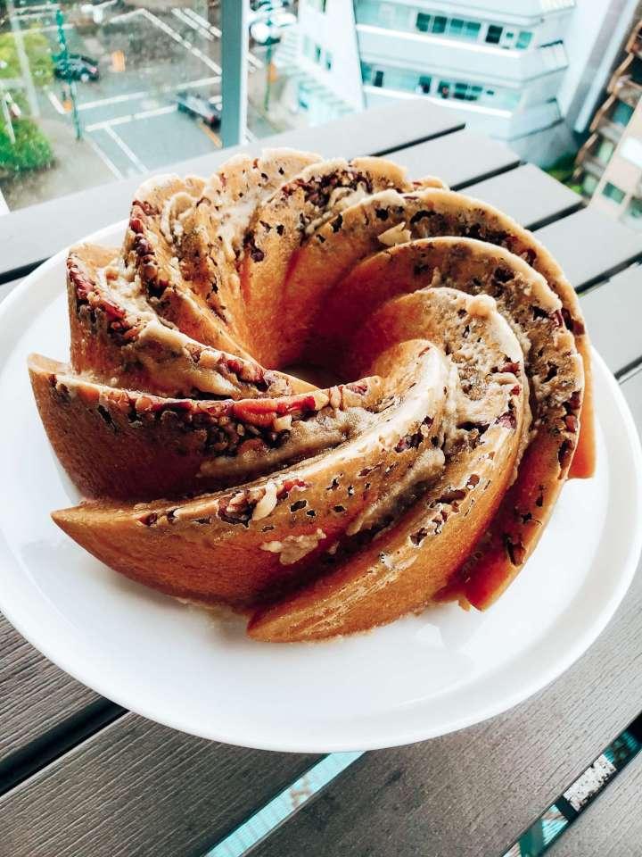Traditional Bermuda Rum Cake