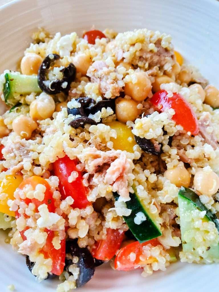 Greek Style Tuna Salad