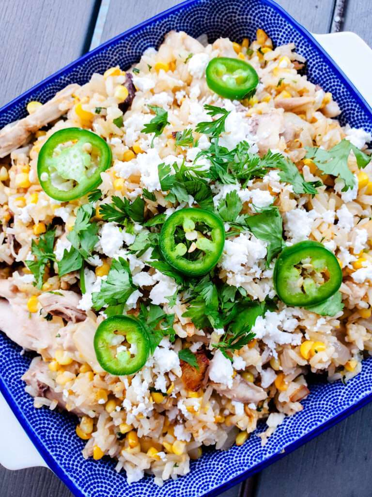 Mexican Street Corn and Chicken