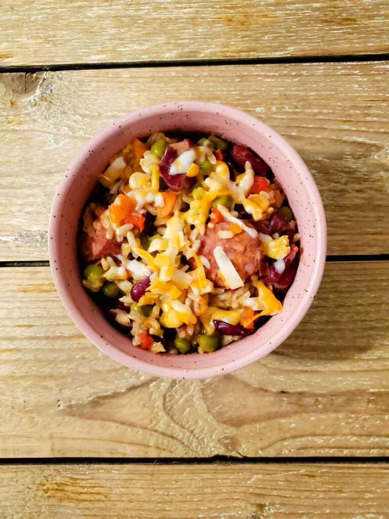 Portuguese Chouriço and Rice Bowls