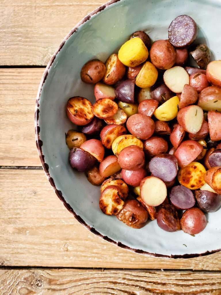 Skillet Rosemary Potatoes