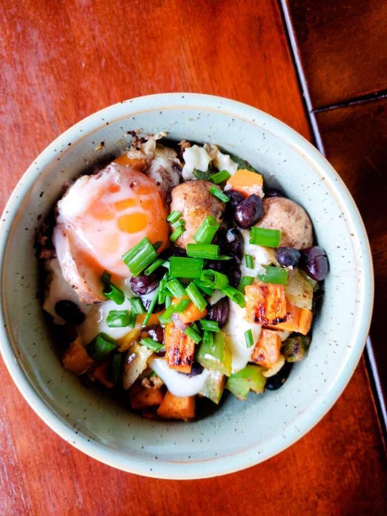 Sweet Potato Breakfast Hash